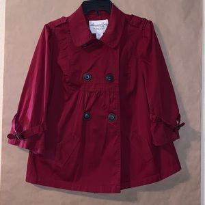 NWOT American Rag dark red swing jacket